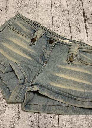 Heidi klum стрейчевые короткие шорты