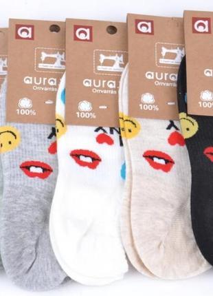 Набор коротеньких носков