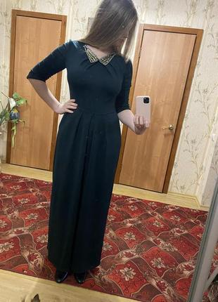 Розкішна довга сукня