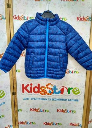 Куртка демисезонная синяя для мальчика, lupilu, 313992