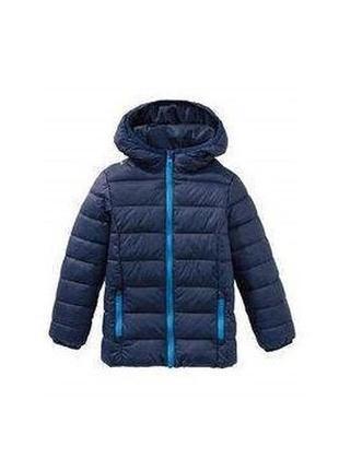 Куртка демисезонная темно-синяя для мальчика, lupilu, 313994