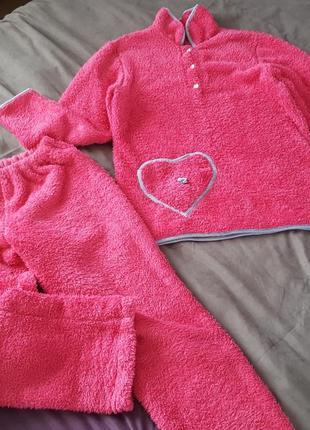 Флісова тепла піжама, флисовая пижама