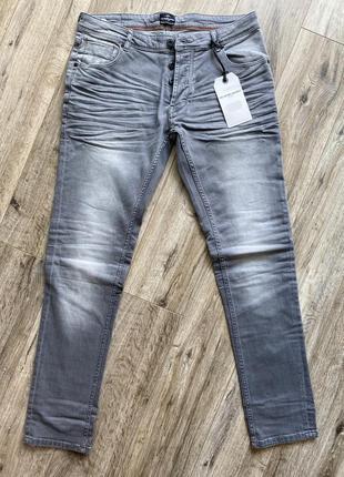 Серые джинсы solid