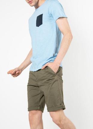Голубая футболка solid