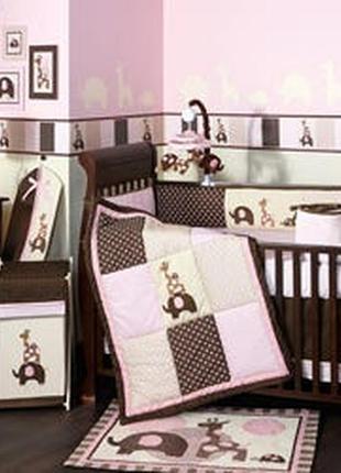 Комплект дитячої постілі та аксесуарів lambs ivy( сша)