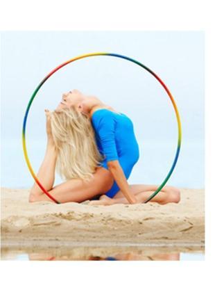 Хула-хуп обруч 0,7 кг 74 см диаметр спортивный гимнастический массажный