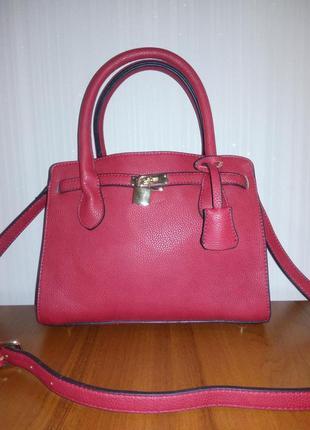 Красная сумка bosanova