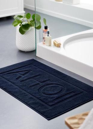 Плотный махровый коврик для ванной от тсм tchibo (чибо), германия,размер 48 см *77 см