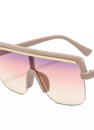Крутейшие модные очки тренд 2020 пудра беж