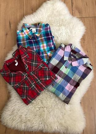 Рубашка в клетку/сорочка/розпродаж/знижки