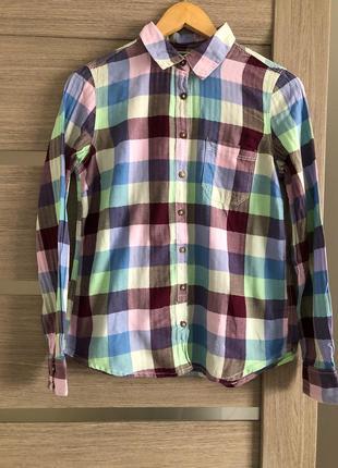 Рубашка в клетку/сорочка/доступні ціни