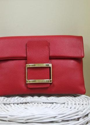 Женская сумочка - клатч италия натуральная кожа