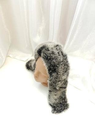 ✅ пушистая опушка на капюшон эко мех кролик