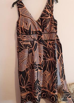 Платье   сарафан коттон