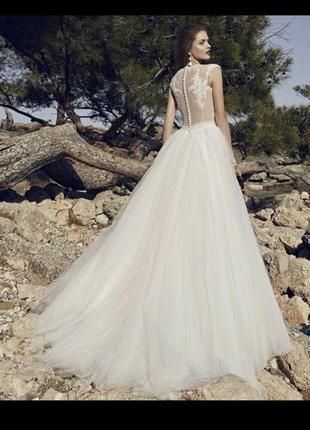 Дизайнерское свадебное платье, весільня сукня