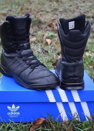 Adidas gsg 9.2 оригинал мужские трекинговые ботинки на зиму кожаные размер 43