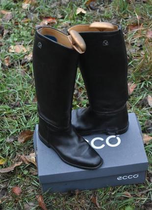 Veltheim оригинал! люксовые женские сапоги из натуральной кожи черные размер 36