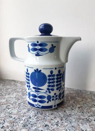 Ретро-винтаж заварник чайник германия гдр