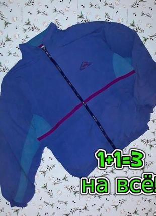 🌿1+1=3 фирменная синяя мужская спортивная куртка puma олдскул, размер 50 - 52
