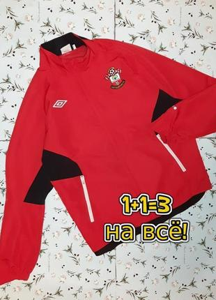 🌿1+1=3 крутая красная олимпийка олимпа куртка на молнии демисезон, размер 48 - 50, англия