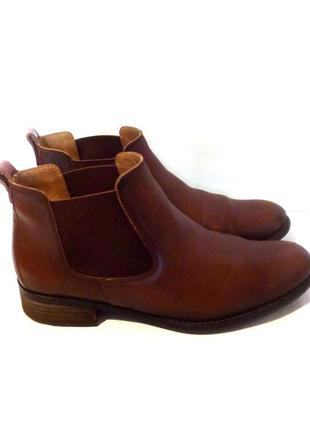 Удобные кожаные ботильоны / ботинки челси от бренда gabor, р.38 код b3748