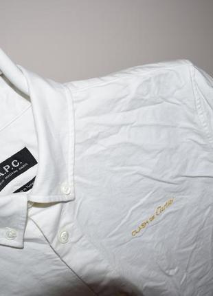 A.p.c. clash de cartier рубашка блузка белая