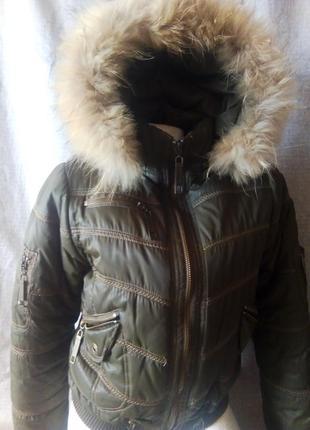Куртка зимняя бомбер spinney