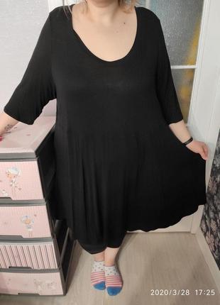 """""""маленькое черное платье"""" очень большого размера 30/32"""
