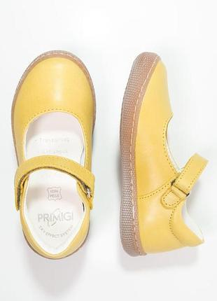 Кожаные туфли primigi, размер 26