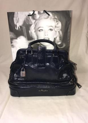 Лаковая сумка antichic