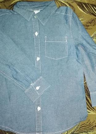 Джинсовая рубашка, классическая рубашка