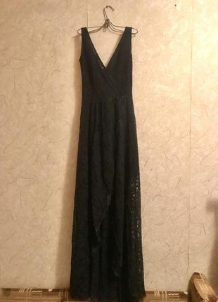 Вечернее платье в пол oodji