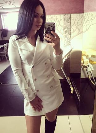 Платье пиджак
