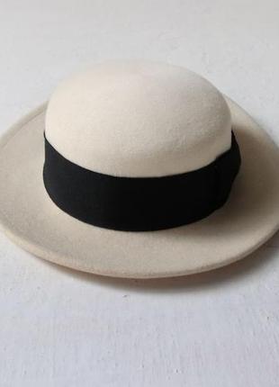 Шляпа 100% шерсть гонконг
