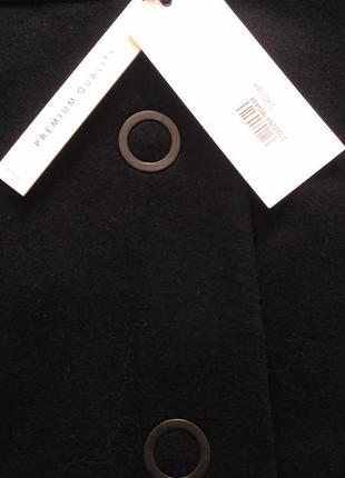 Черная юбка-трапеция   reserved ( wool blend )  р.383 фото