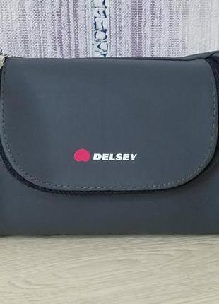 Delsey косметичка бренда delsey  paris франция.