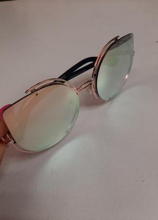 Крутецкие очки солнечные солнцезащитные имиджевые miu miu