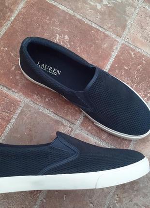 Lauren by ralph lauren слипоны большой размер обуви из сша