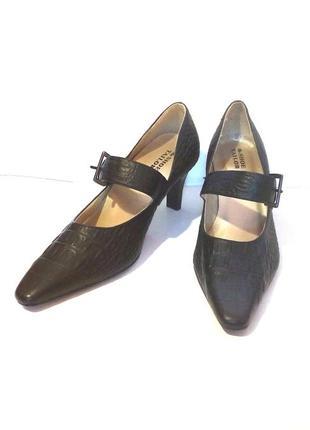 Стильные кожаные туфли the shoe tailor, р.38 код t3844