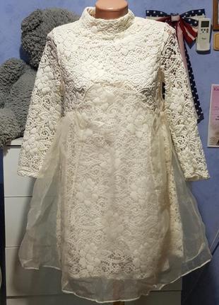 Ажурное платье  x&yy