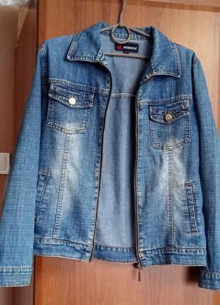 Джинсова куртка джинсовка