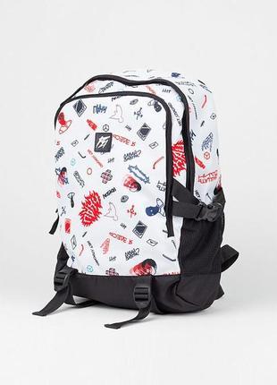 Рюкзак для ноутбука punch city doodle art с плотной спинкой