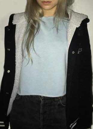 Утепленный бомбер gloria jeans