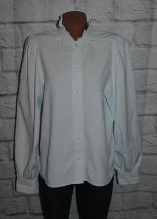 """Рубашка в полоску с объемными рукавами """"h&m"""""""