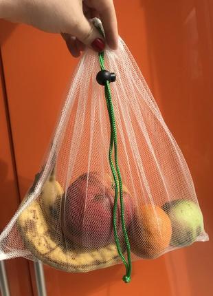 Эко мешочки торба торбинка фруктовка сетка еко мішечки