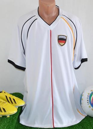 Футбольная спортивная футболка сборной германии victory deutschland этикетка