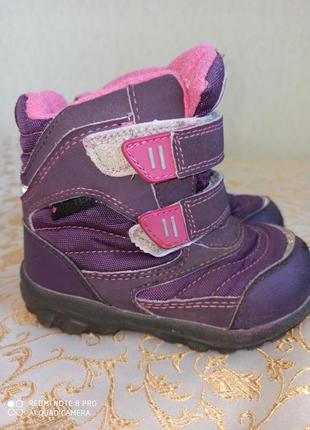 Термоботинки ботинки сапожки детские котофей на девочку