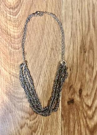 Ожерелье бусы цепочка