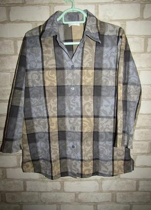 Рубашка в клетку р-р 12 бренд bonita