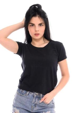 Базовая черная футболка